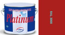 Vitex Platinum satén RAL 3000 2,25L